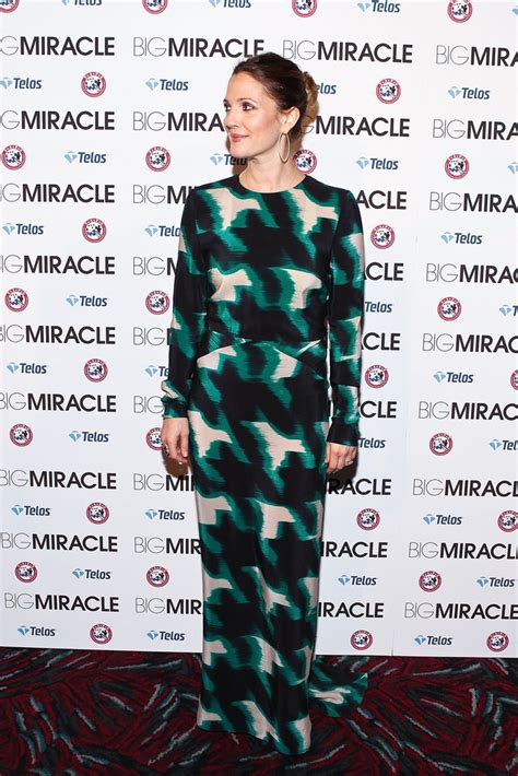 The Miracle Drew Barrymore Drew Barrymore And Will Kopelman Pictures At Big Miracle Popsugar