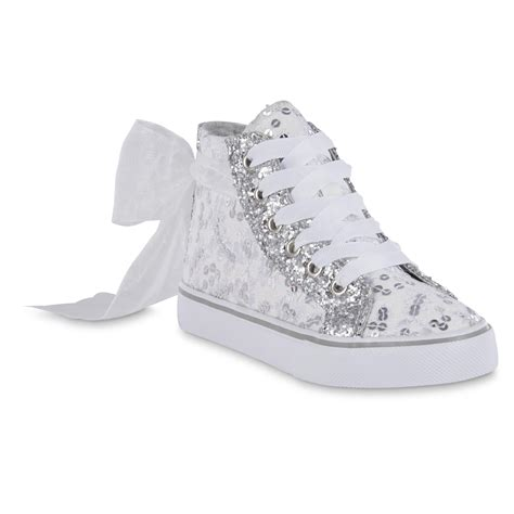kmart shoes for piper dakota embellished high top white sneaker