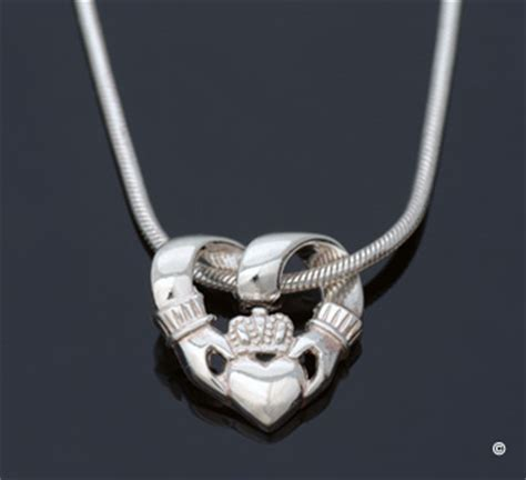 Wedding Ring Necklace Meaning by Claddagh Necklace Meaning