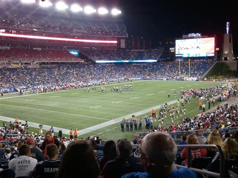 section 118 gillette stadium gillette stadium section 117 new england patriots