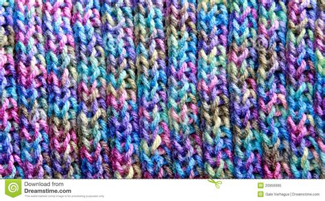 colorful stitches colorful rib stitch knit pattern stock image image of