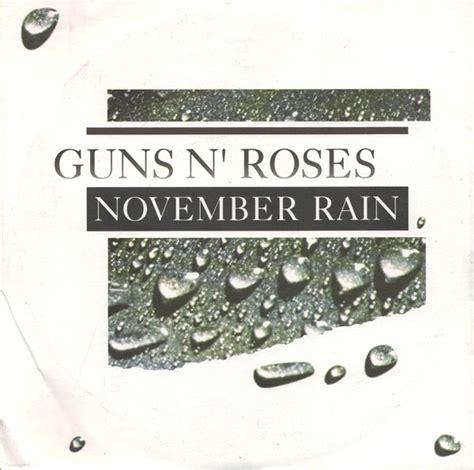 guns  roses november rain releases discogs