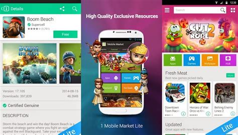one mobile market apk 1mobile market lite apk for free android apps