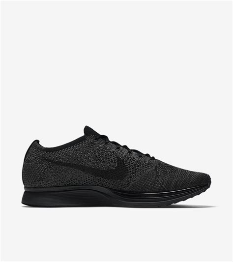 Nike Flyknit Racer Black Out For 1 nike flyknit racer black midnight release date