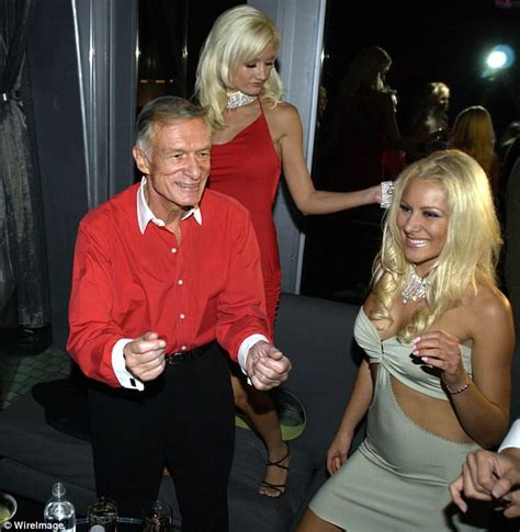 Hugh Hefner And On Baby Theres Been Lots Of Trying by Hugh Hefner S Ex Reveals He Saved From Disorder