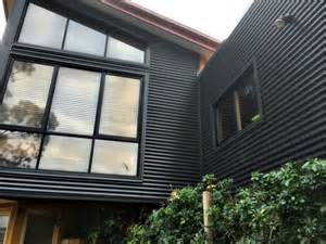 Victorian Colour Schemes Interior Colorbond Monument 174 Wall Cladding Project In Highton