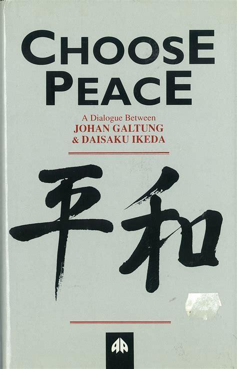 at peace choosing a after a books choose peace shop sgi australia