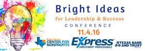 Brite Ideas Bright Ideas For Leadership Success Conference United