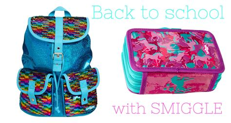 Smiggle Yay Fold Away Backpack Blue back to school with smiggle all baby advice