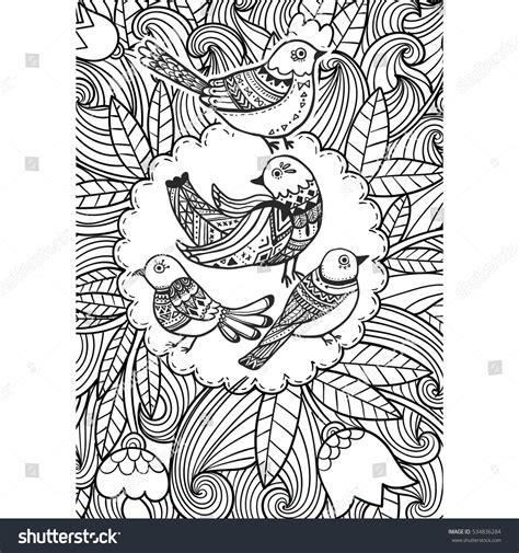 doodle pigeon bird doodle pigeon doodle stock vector 534836284