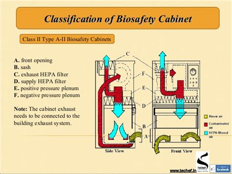 biosafety cabinet types fanti biological safety cabinet types ppt fanti