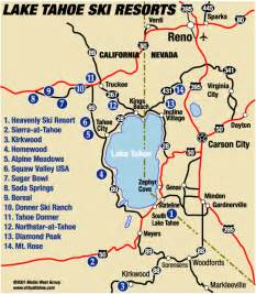 northern california ski resorts map how many ski resorts are there in the lake tahoe area quora