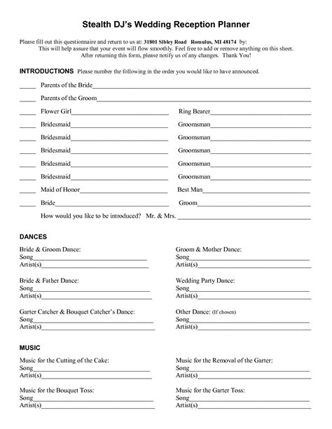 wedding dj song list template wedding dj song list template modern wedding