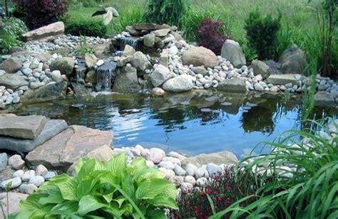 laghetto in giardino come costruire un laghetto da giardino idee green