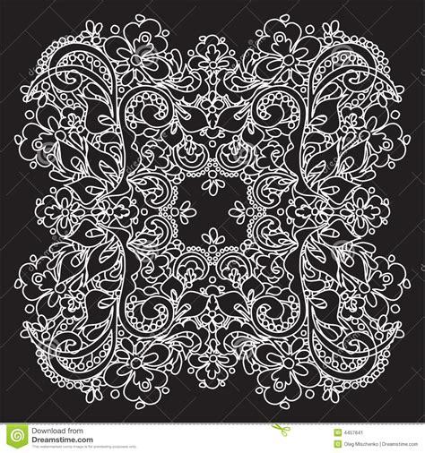 vector decorative lace stock vector image  creative