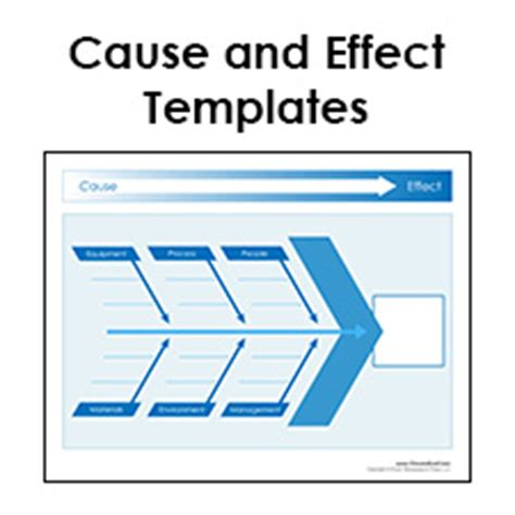 cause and effect diagram pdf cause and effect diagram templates pdf format