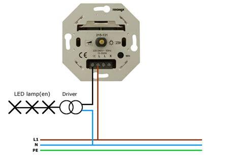 dimmen led verlichting aansluiten hoe dim je tronix led inbouwspots
