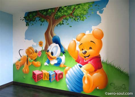 deco chambre bebe disney d 233 coration graffiti chambre enfant enzo et les b 233 b 233 s disney