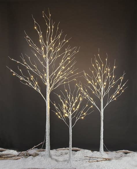 using a birch branch tree for a christmas tree lightshare led birch tree 8 mini birch and lighted