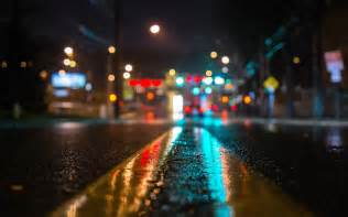 streets with lights tilt shift lights cool wallpapers