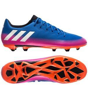 adidas 16 3 trx fg messi 2017 soccer shoes blue pink white brand new ebay