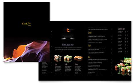 Restaurant Menu Templates Free Mac Free Menu Templates For Mac