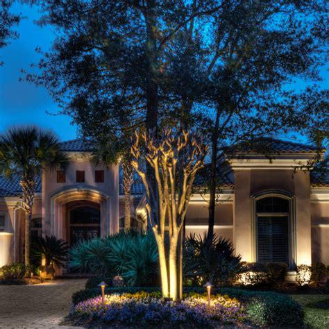 custom landscape lighting house custom landscape lighting