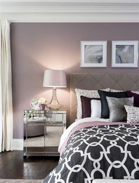 couleur papier peint chambre adultes 1001 id 233 es pour la d 233 coration d une chambre gris et violet