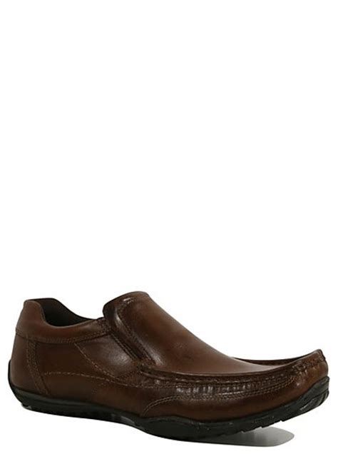 asda george shoes leather slip on formal shoes george at asda