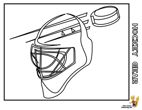 printable coloring pages hockey slap shot hockey printables hockey gear free hockey