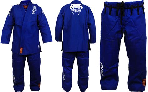 Venum Absolute Gold Weave Bjj Gi Blue venum absolute gi