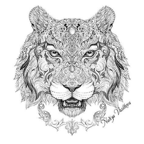 tiger mandala coloring page shaman tiger itog i think this is my most popular totem