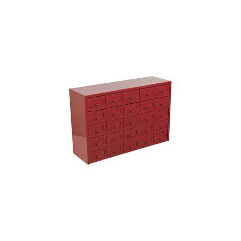 sealey metal cabinet box 25 drawer parts storage boxes