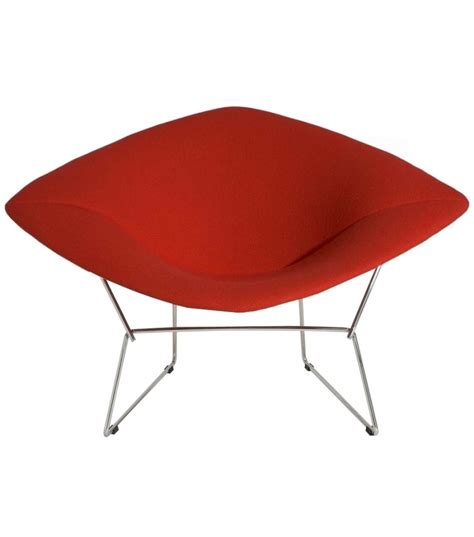 Chaise Bertoia Knoll by Bertoia Large Chair Fauteuil Knoll Milia Shop