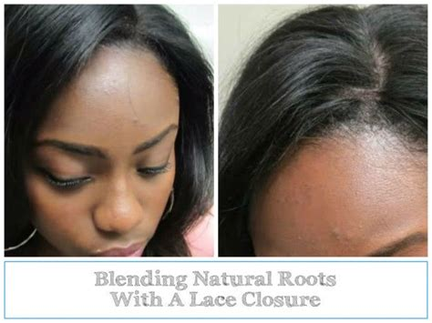 how to blend in hair roots blend natural roots with lace closure lace closure and