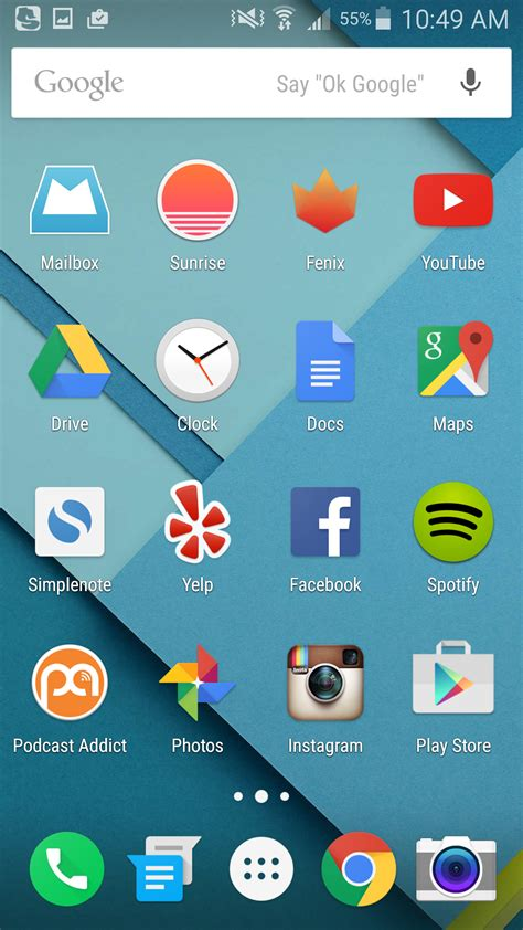 android home screen 5 steps to get your phone as to stock android as possible tech lists android paste