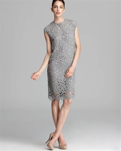 Dress Lace Grey light grey lace dress review fashion gossip