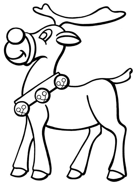 coloring pages deer rudolf free coloring pages of rudolph