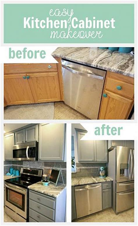 easy kitchen makeovers decoart diy easy kitchen cabinet makeover