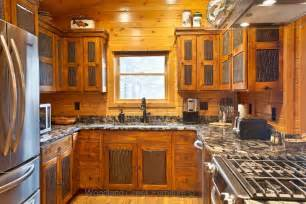 Rustic Birch Kitchen Cabinets - rustic kitchen cabinets cabin cabinetry knotty alder