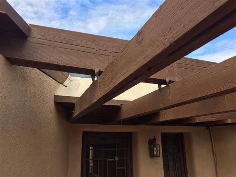 beam x front of house carpentry fix sagging beam situation home improvement
