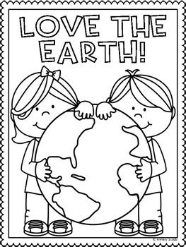 earth day coloring sheets earth day coloring sheet by primary scouts teachers pay