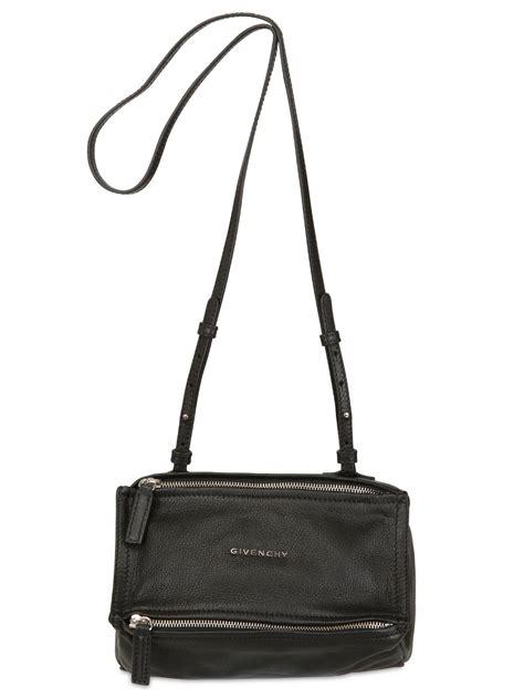 8103 Black Shoulder Bag lyst givenchy mini pandora leather shoulder bag in black