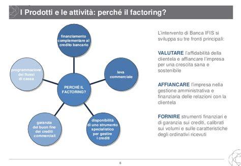 ifis factoring finanziamento all impresa garanzia e gestione credito