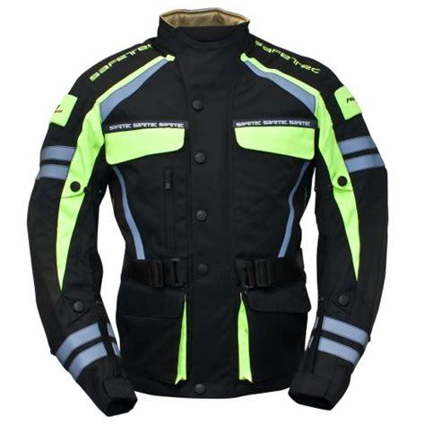 Safetec Motorrad Abdeckplane by Roleff Racewear 953 Safetec Motorradjacke Textil Schwarz