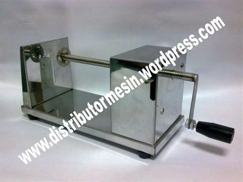 Potato Slicer Alat Pemotong Kentang Chip Maker 3 mesin kentang spiral distributor mesin