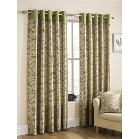 lime eyelet curtains belfield furnishings flora lime eyelets readymade curtains