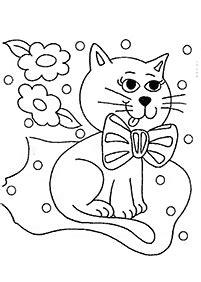 Kertas Mewarna Kucing Boleh Cetak