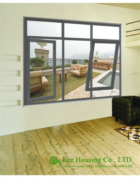 Glazed Awning Windows by Glazed Aluminum Casement And Picture Windows Grey