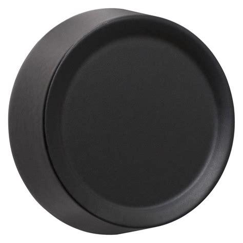 Black Dimmer Knob delaney italian collection santo black entry knob 500t sn